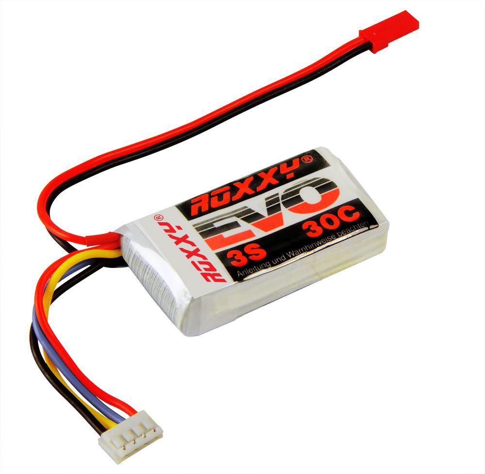 LiPo-Akku ROXXY Evo 3-450  30C ohne Stecker