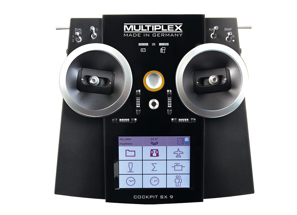 Cockpit SX9 Einzelsender