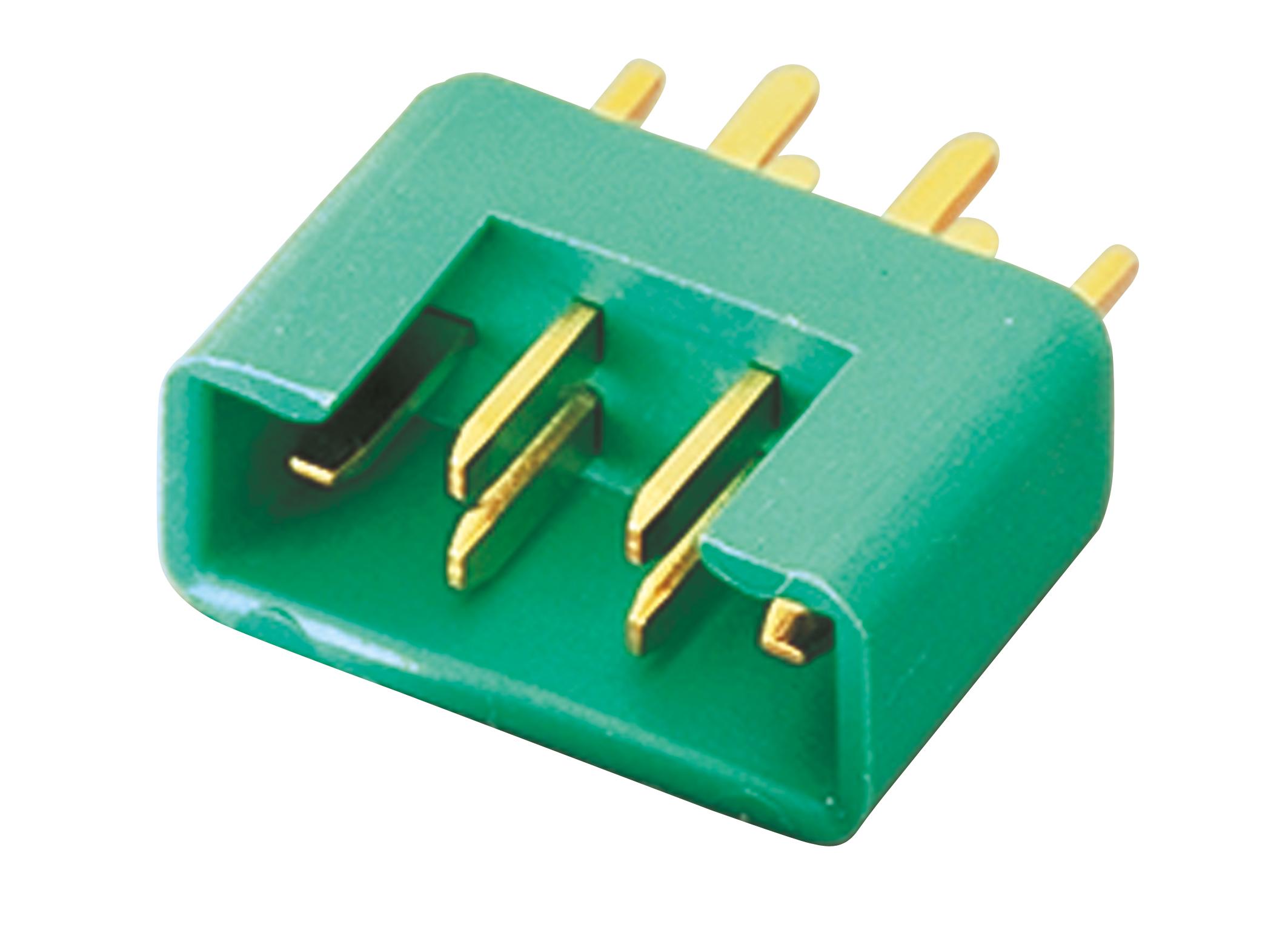 MPX-Stecker M6 (grün)