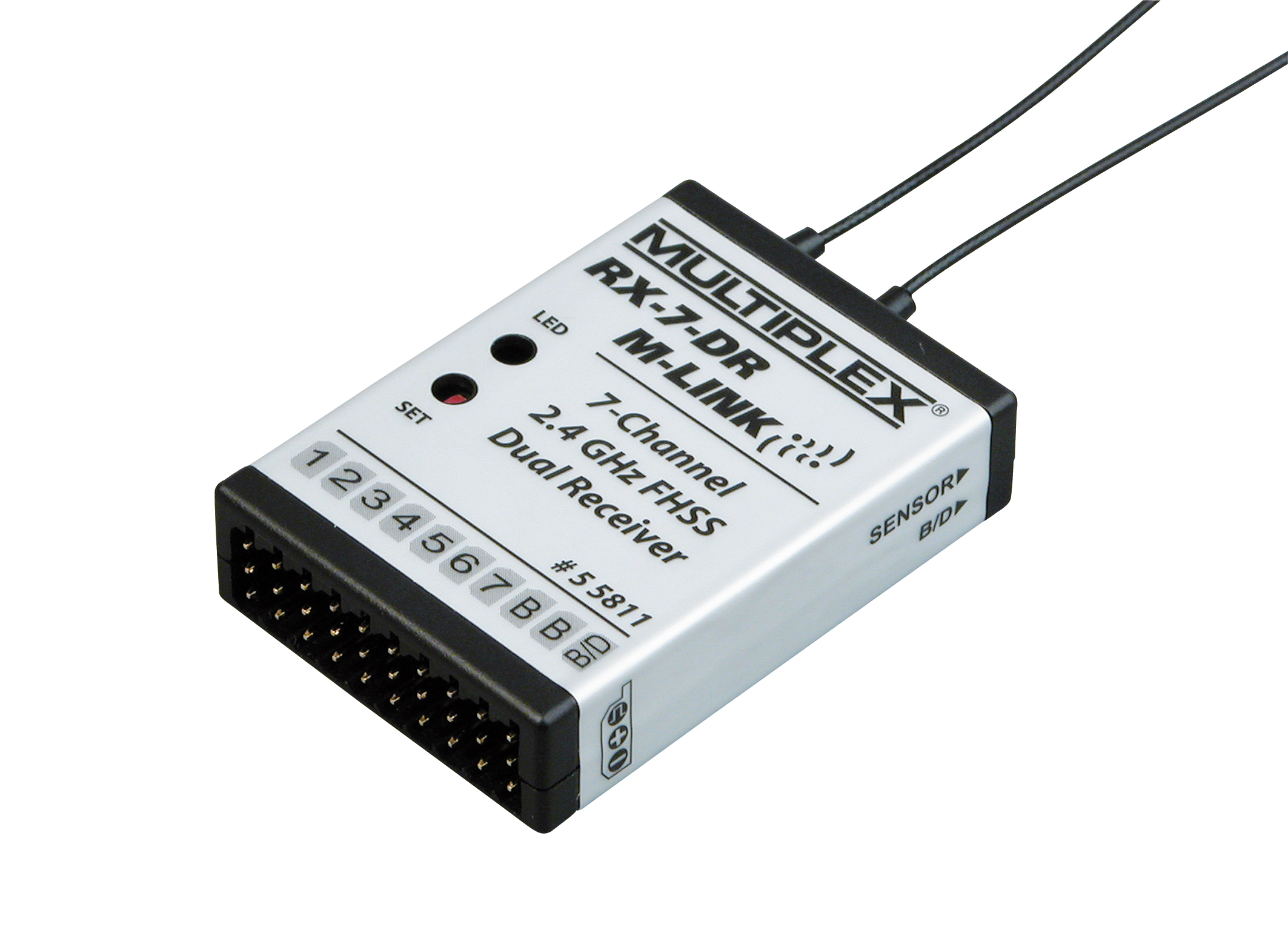 Multiplex Empfänger RX-7-DR M-LINK 2,4 GHz