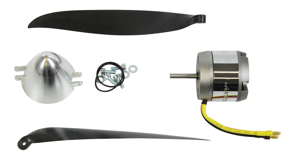 Multiplex Antriebssatz Antaris (Motor, Spinner,