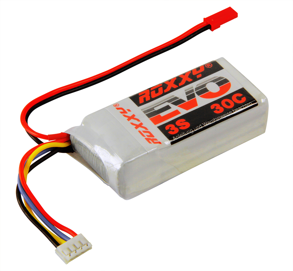 LiPo-Akku ROXXY Evo Lipo 3-850B 30C ohne Stecker