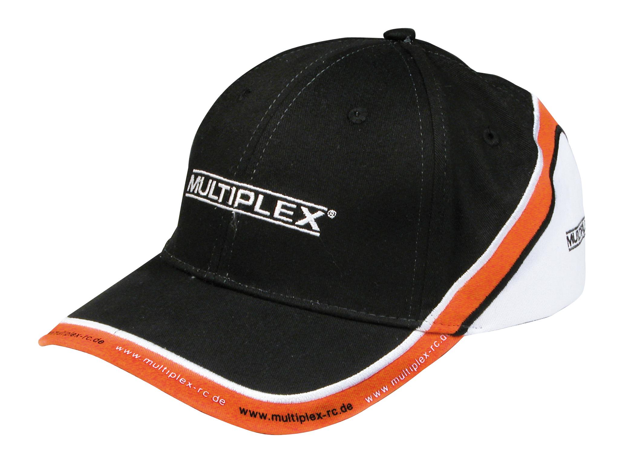 Multiplex MPX-Cap weiß/orange/schwarz