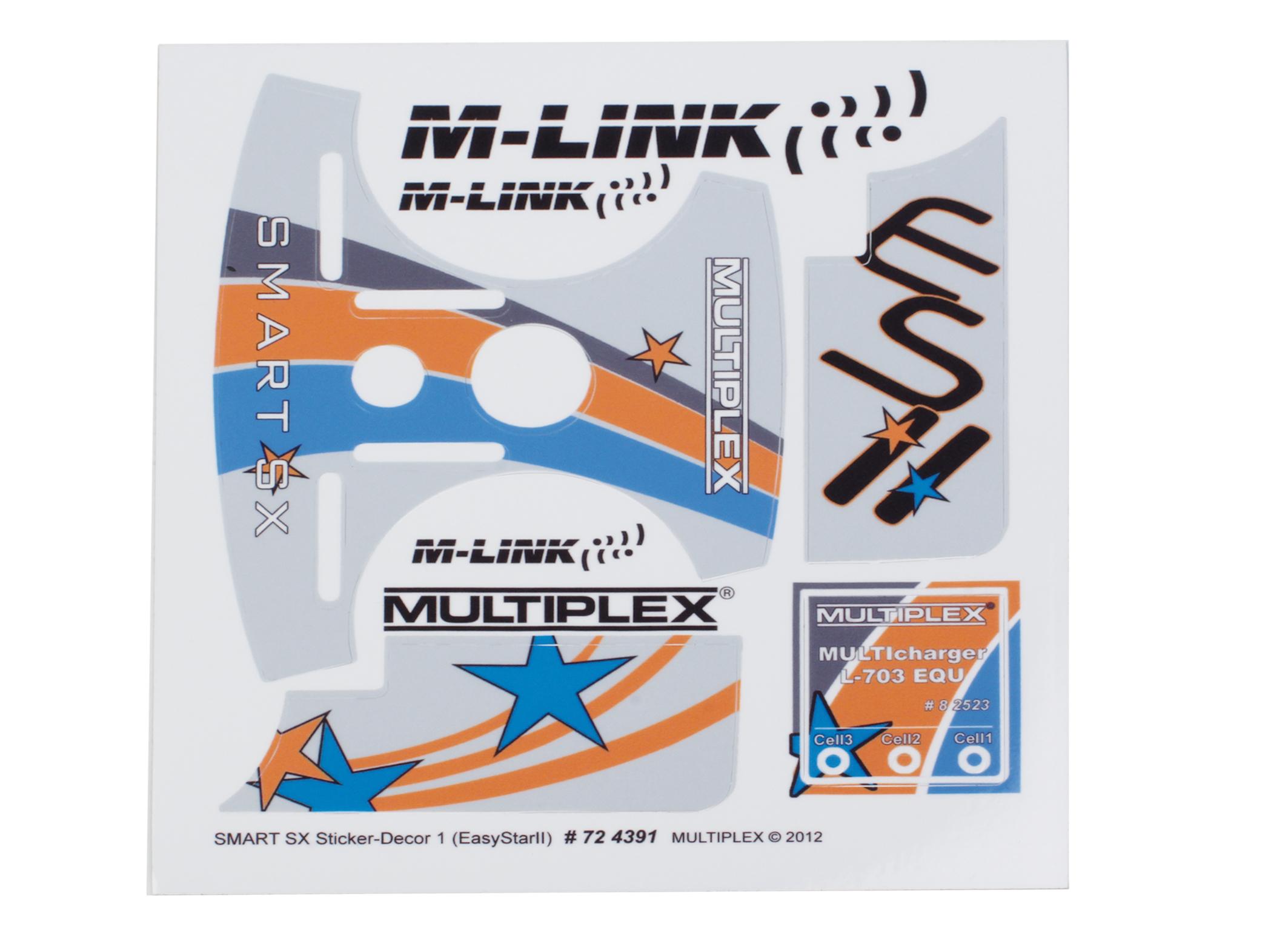 Multiplex Dekorbogen Smart SX Dekor 1
