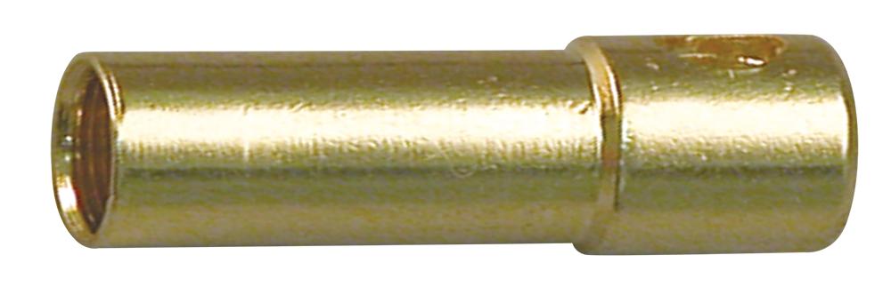 Multiplex Goldbuchse 2mm 3 Stk (passend zu 85280)