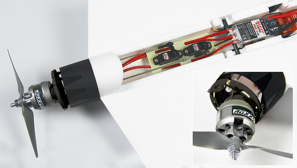 Multiplex Antriebssatz FunJet 2 mit Vektorsteuerei