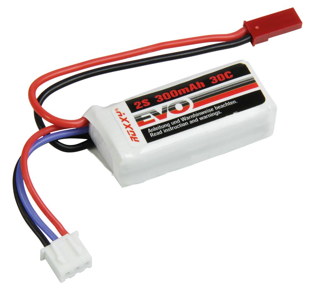 Multiplex ROXXY EVO LiPo 2-300B 30C; 2,2 Wh