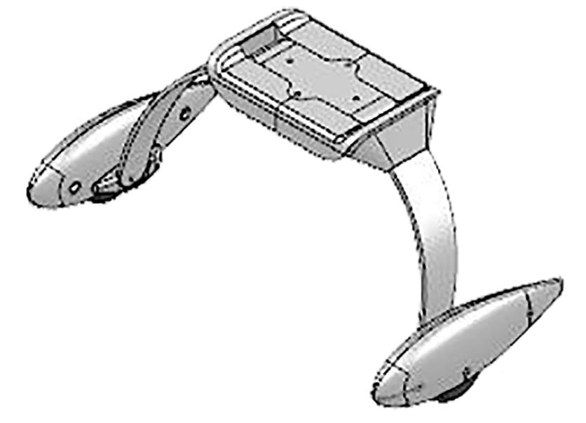 Hauptfahrwerk Extra 300 S inkl. Schrauben