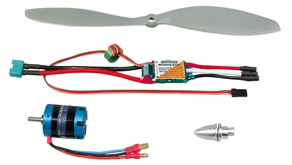 Multiplex Antriebssatz ParkMaster PRO Tuning