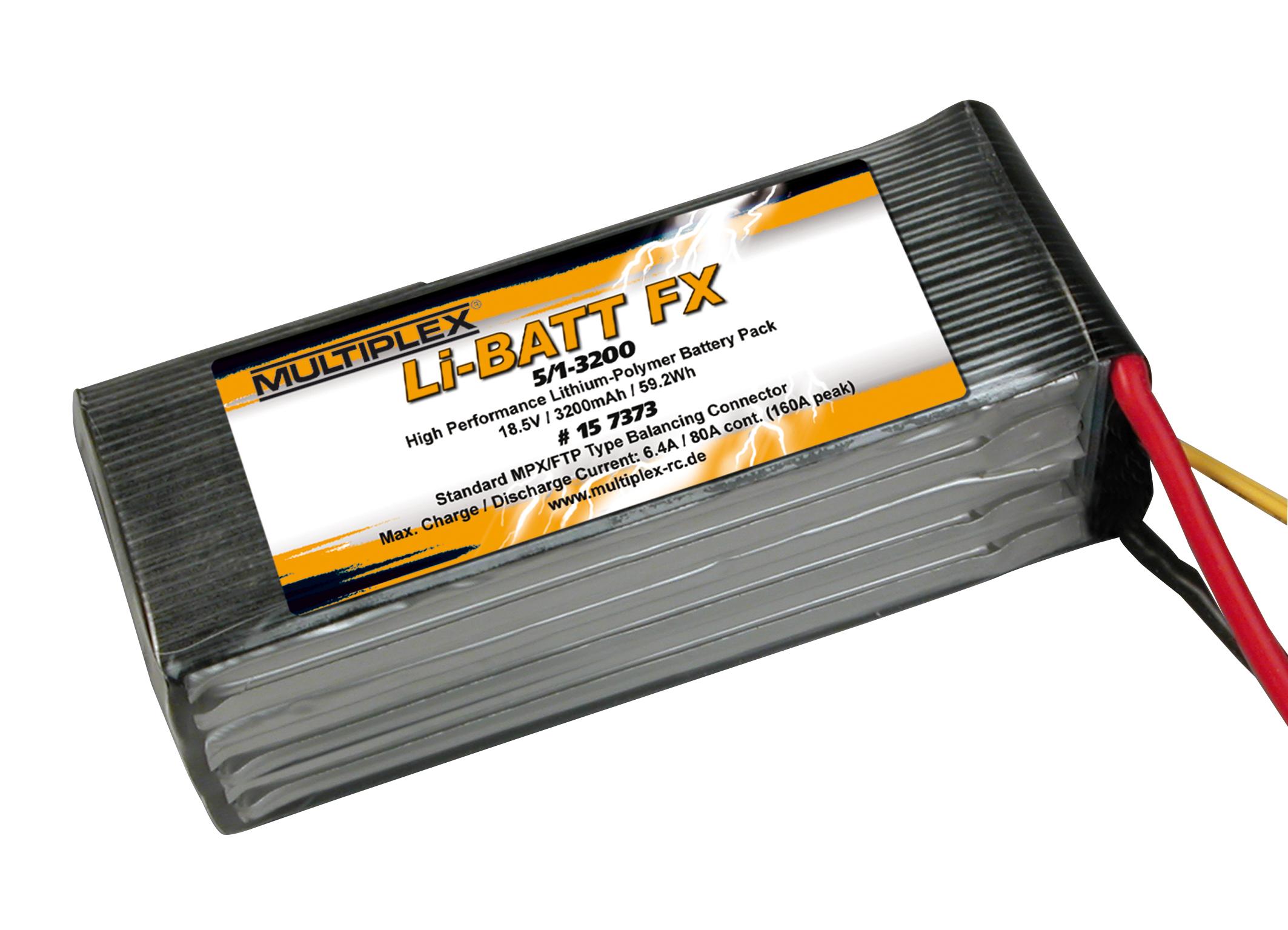 Akku Li-Batt FX 5/1-3200 (M6)