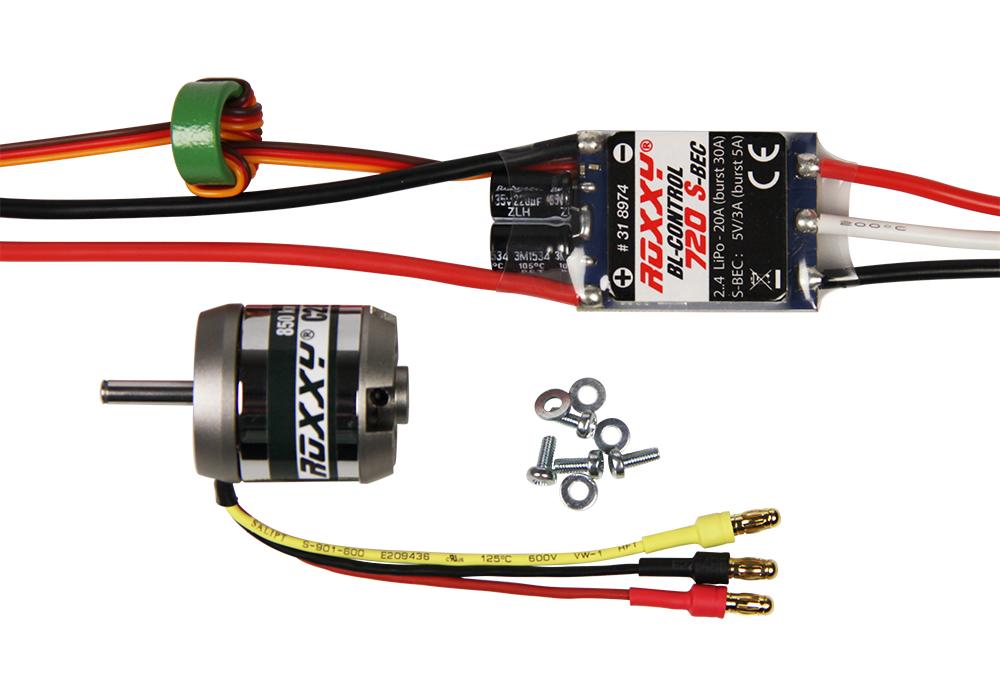 Multiplex Antriebssatz EasyGlider 4