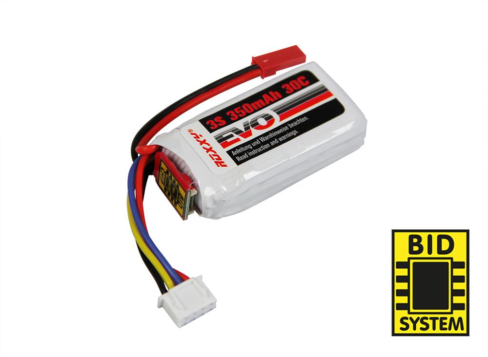 LiPo-Akku ROXXY Evo 3-350B 30C mit BID-Chip