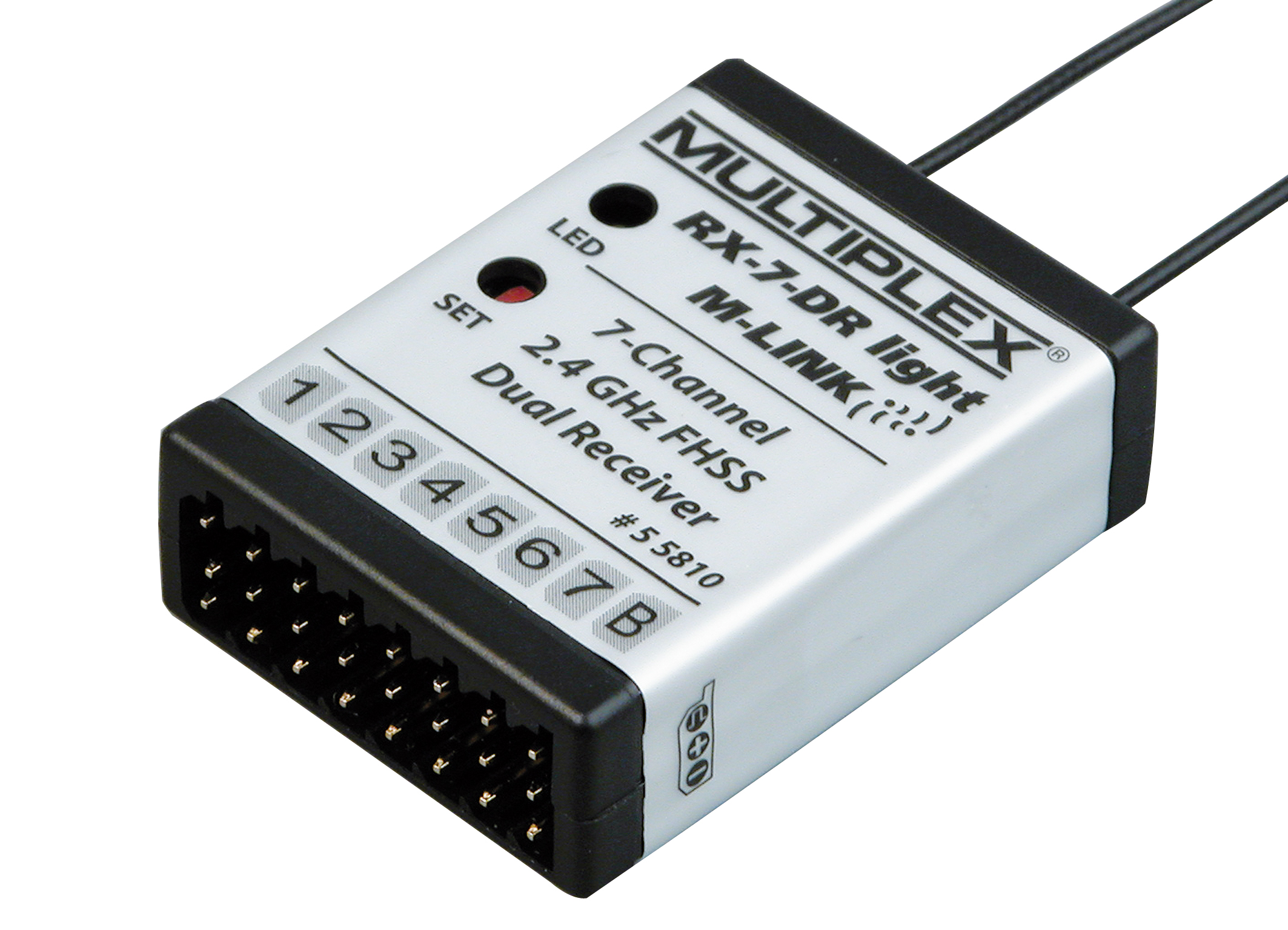 Multiplex Empfänger RX-7-DR light M-LINK 2,4 GHz
