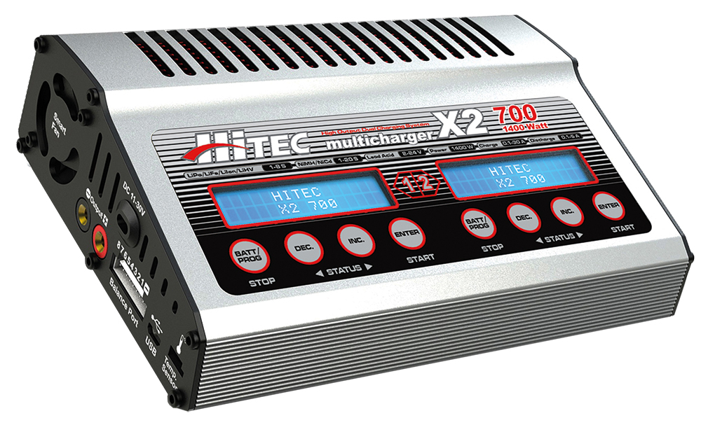 Hitec Multicharger X2 700 DC(1400 W)