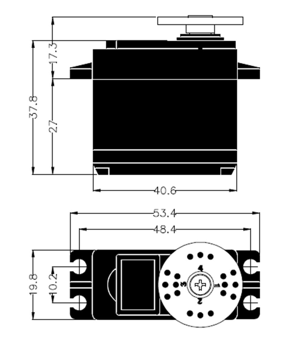 Hitec Servo HS-5625MG