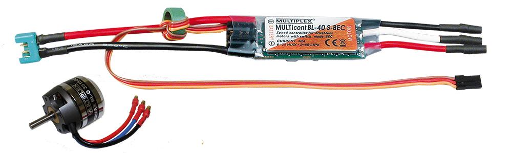 Multiplex Antriebssatz Solius/Heron