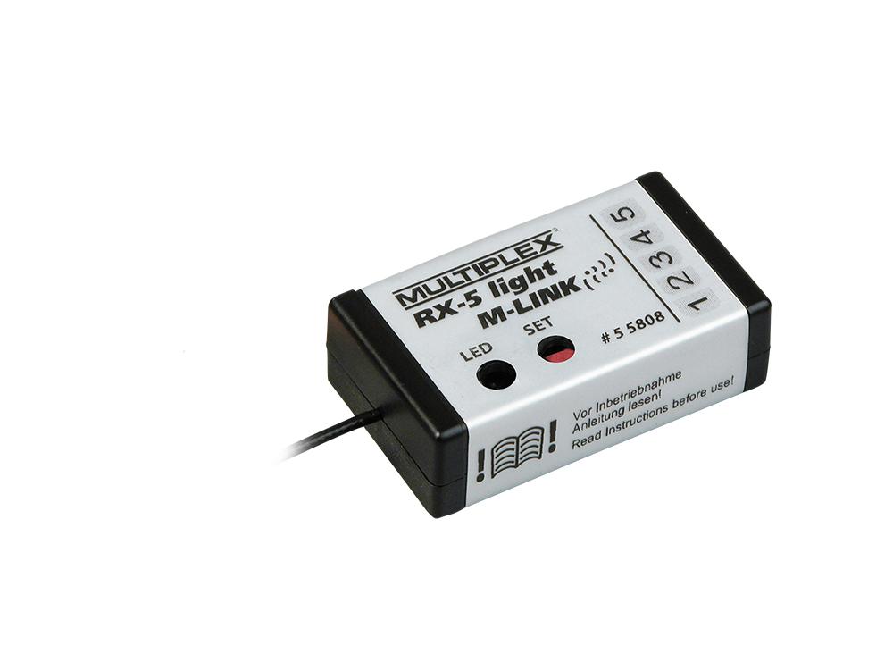 Multiplex Empfänger RX-5 light M-LINK 2,4 GHz