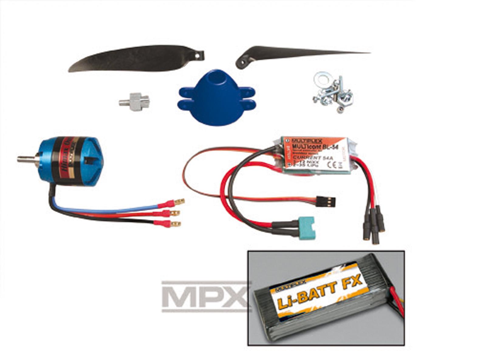 Antriebssatz Blizzard Tuning Li-BATT powered