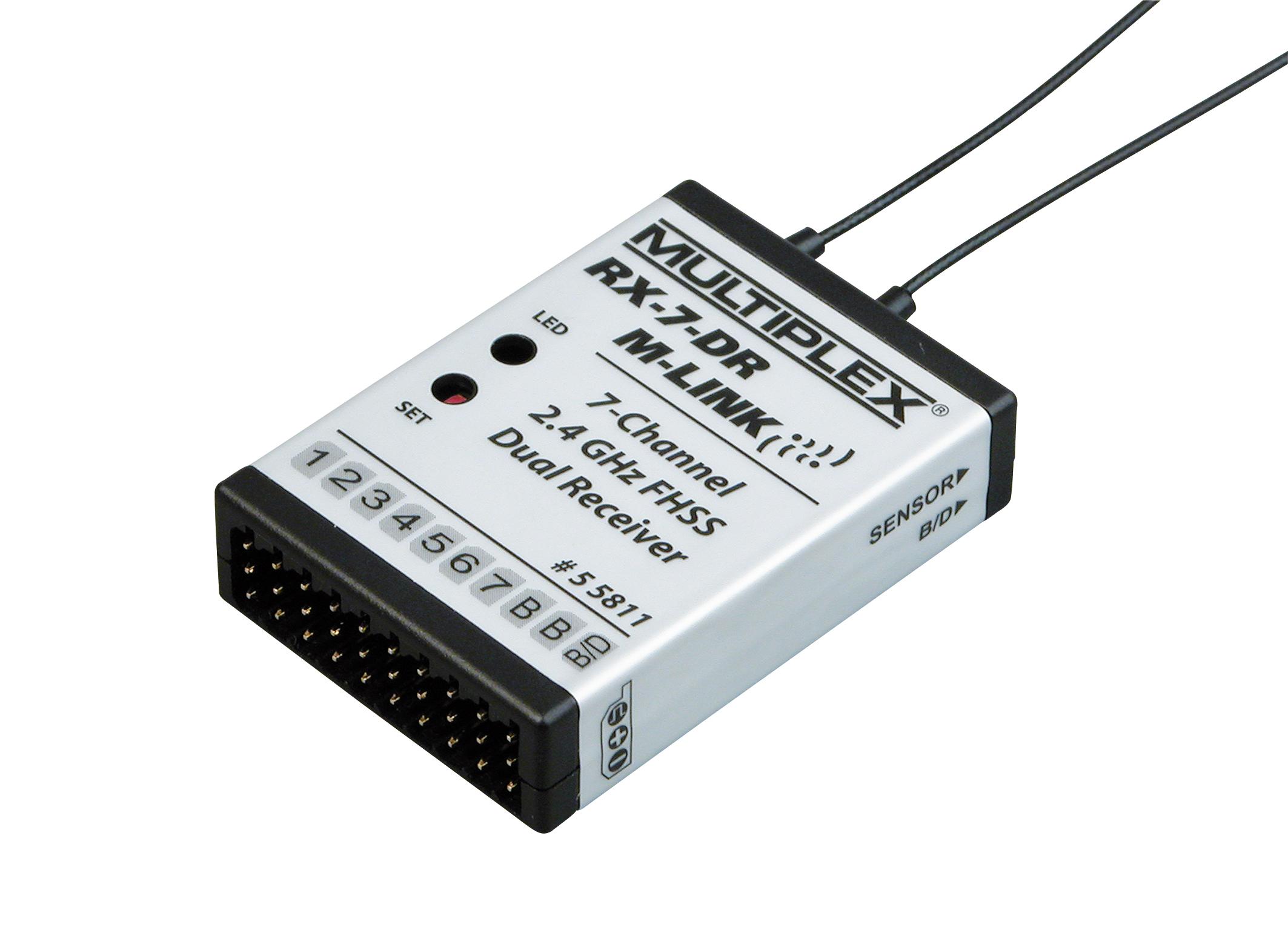 Empfänger RX-7-DR M-Link 2,4 GHz