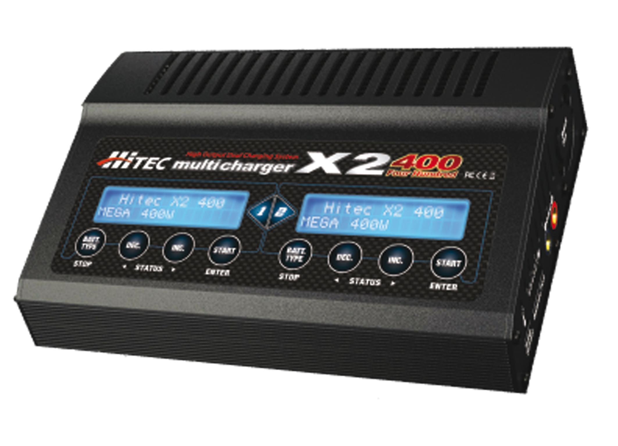 HiTEC Multicharger X2 400
