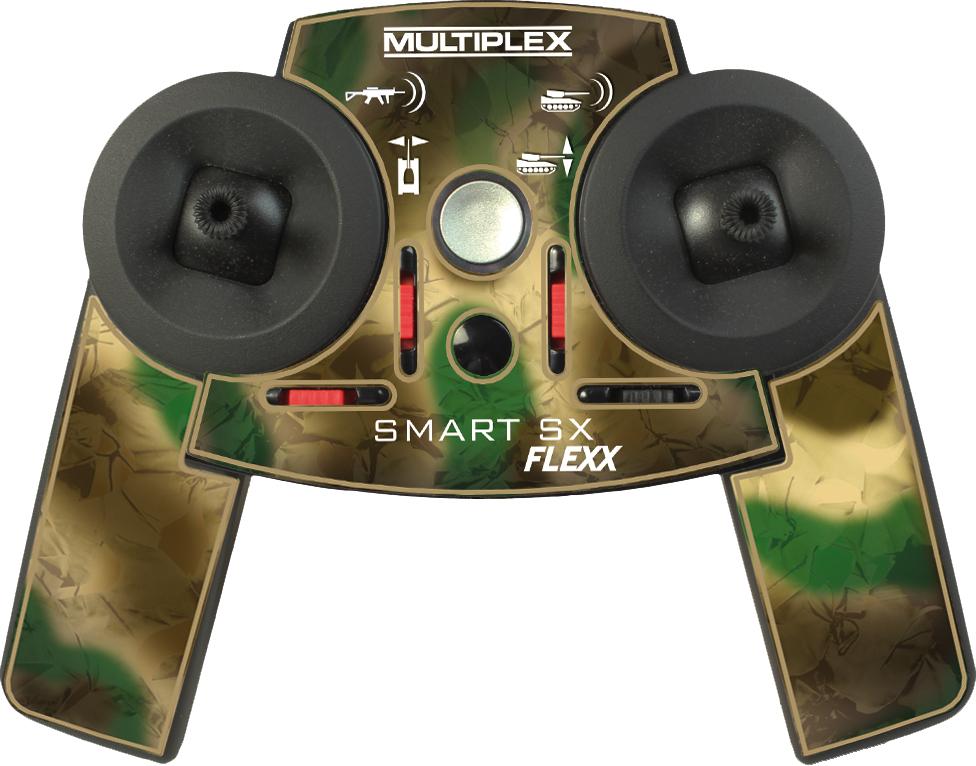 Multiplex Dekorbogen Smart SX FLEXX Tank