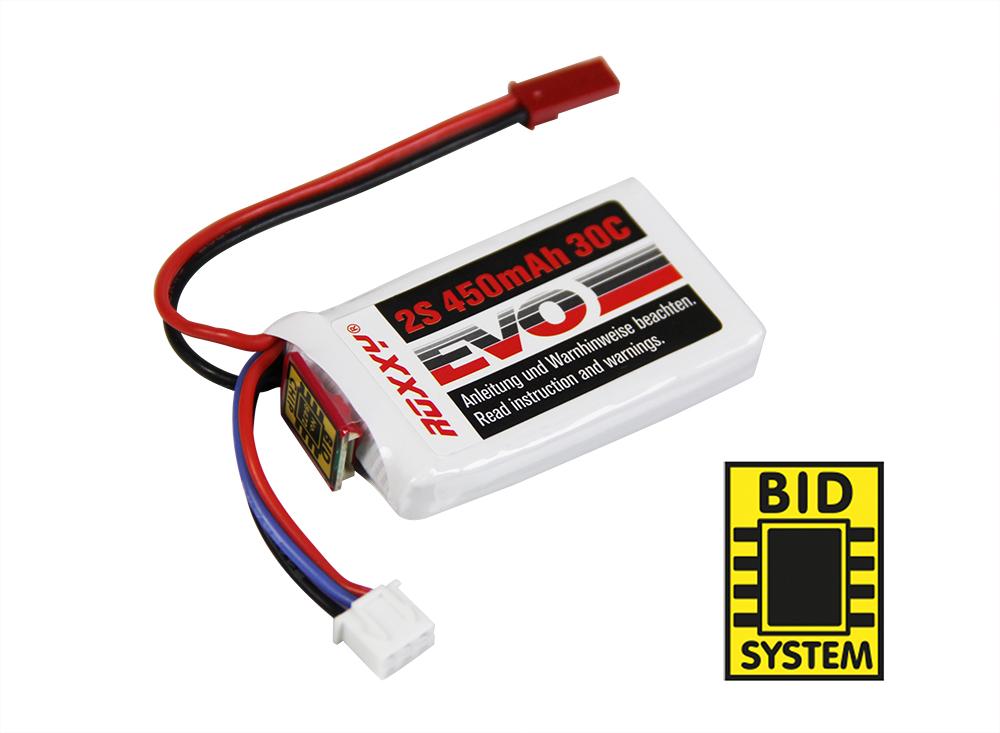 LiPo-Akku ROXXY Evo 2-450B 30C mit BID-Chip