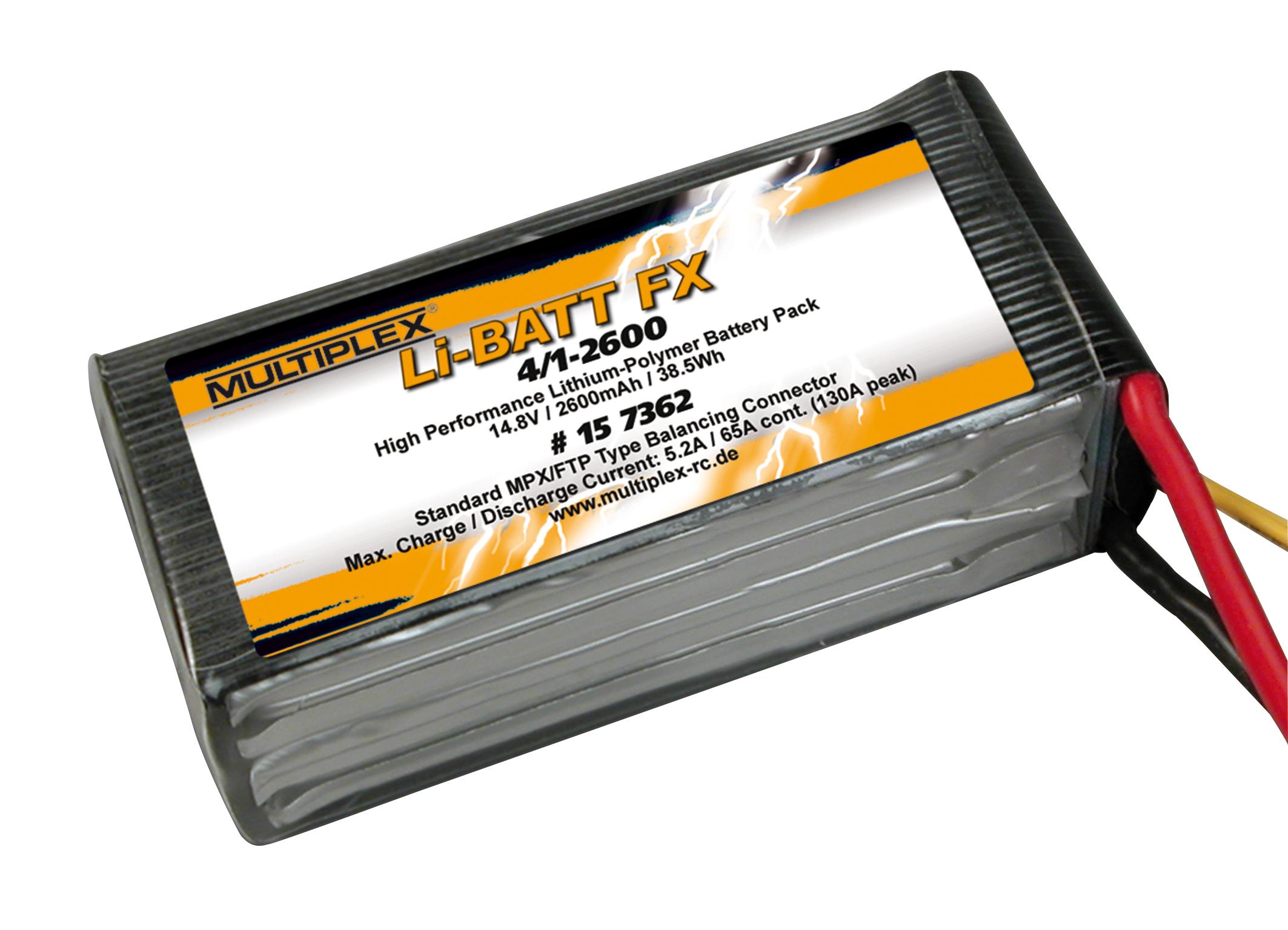 Akku Li-Batt FX 4/1-2600 (M6)