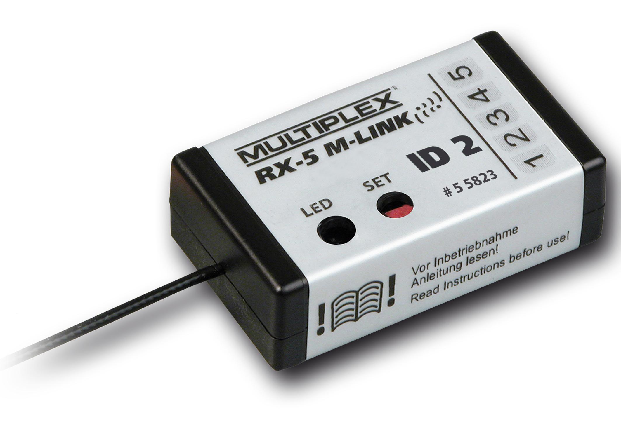 Multiplex Empfänger RX-5 M-LINK ID 2 EasyStar II