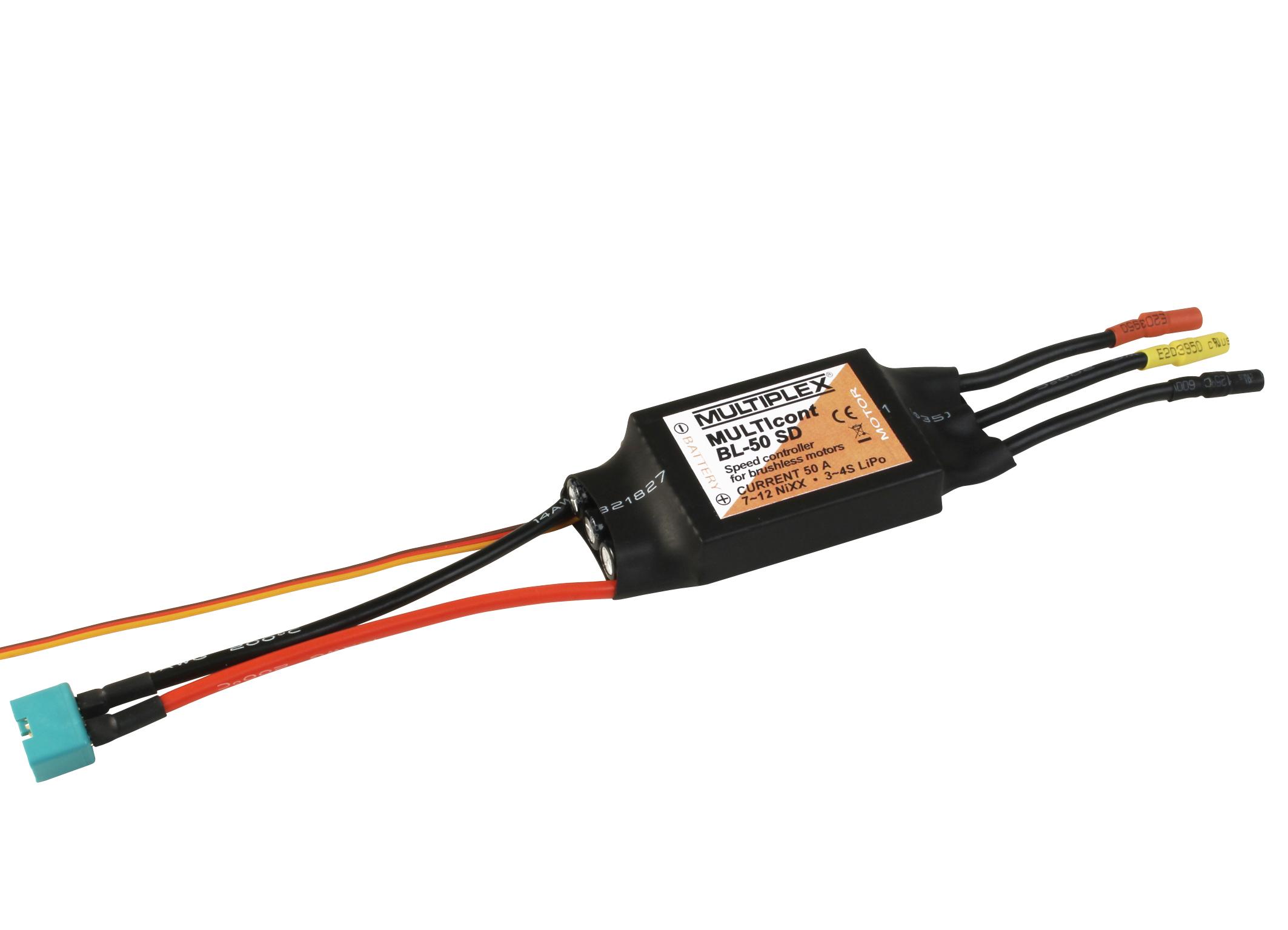 Multiplex Regler MULTIcont BL-50 SD