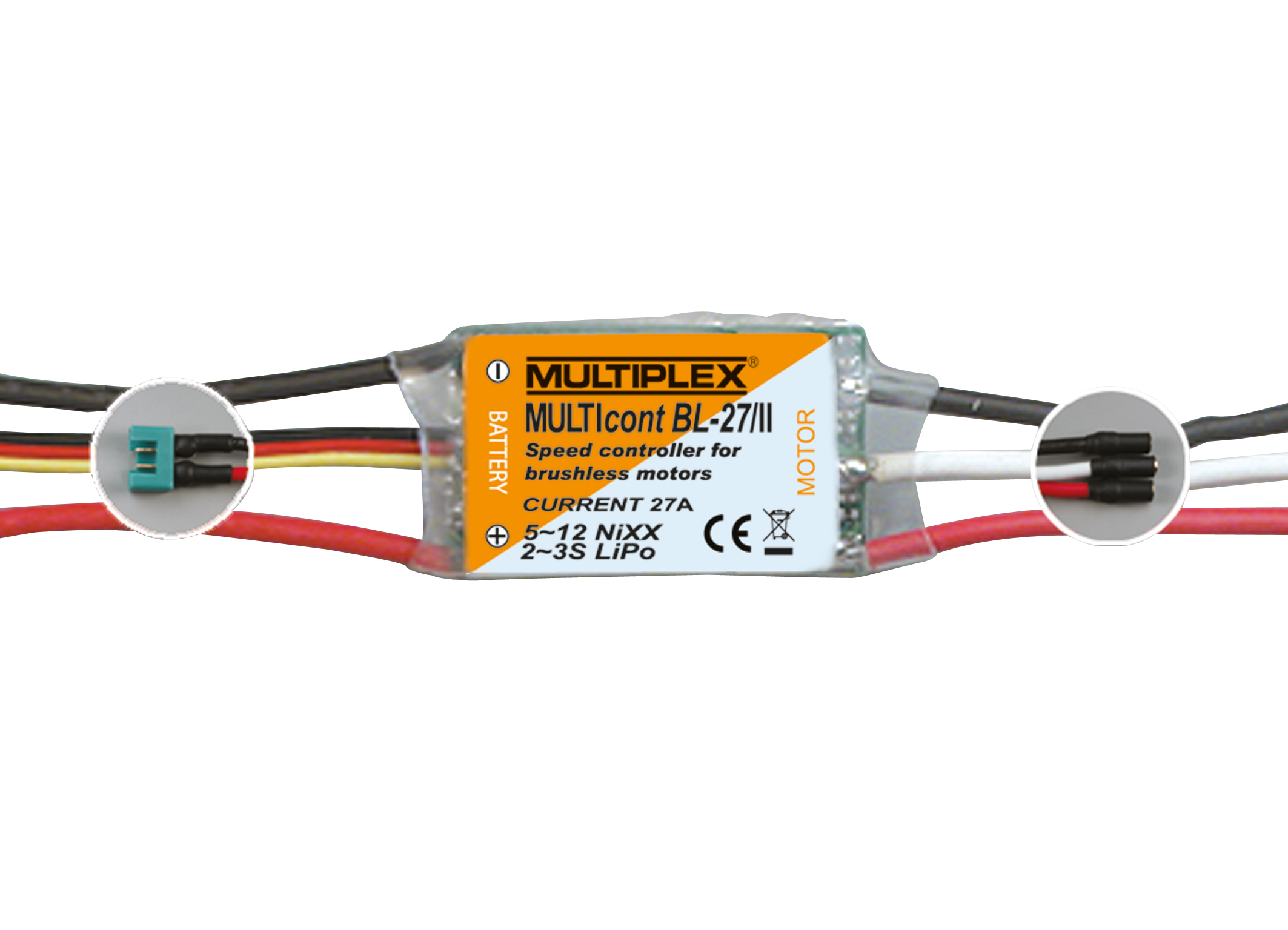Multiplex Regler MULTIcont BL-27/II