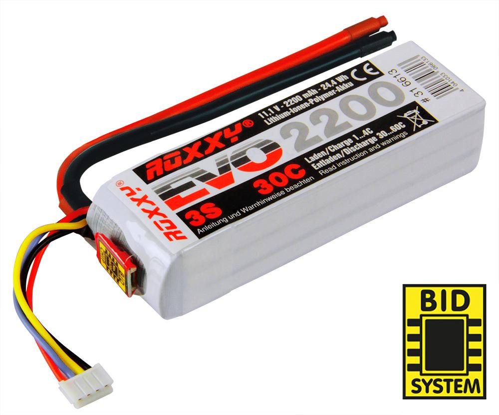 LiPo-Akku ROXXY Evo Lipo 3-2200 30C Stecker MPX