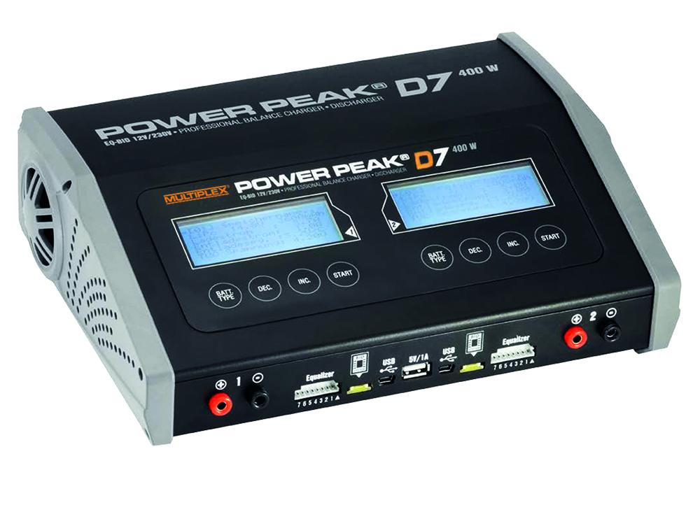 Ladegerät Power Peak D7 EQ-BID