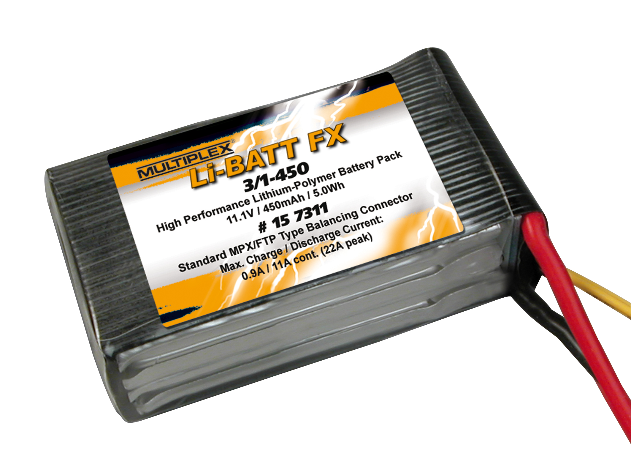 Akku Li-BATT FX 3/1-450 (M6)
